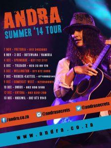 SUMMER'14 TOUR SA poster